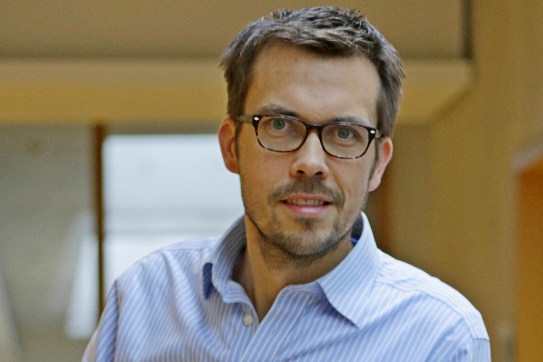 Prof. Dr. Christian Kutzera Foto: Christian Klett, FH Südwestfalen